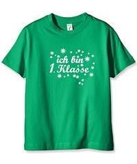 Coole-Fun-T-Shirts Mädchen T-Shirt Ich Bin 1. Klasse
