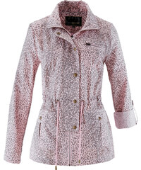 bpc selection Veste longue à imprimé léopard rose manches longues femme - bonprix