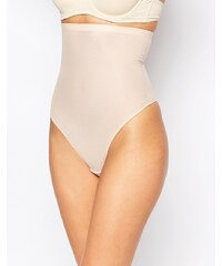 Magic Body - Figurformender, hochtaillierter Tanga - Beige