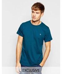 Jack Wills - Waldgrünes T-Shirt mit Pfauenlogo, exklusiv - Grün