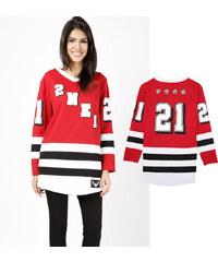 Lesara T-shirt à manches longues Hockey
