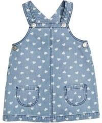 H&M Džínové šaty s laclem