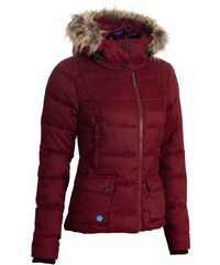 Zimní bunda Woox Fog Twill Red dám.