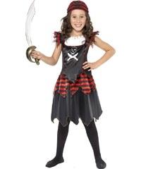 Smiffys Dívčí pirátský kostým - 10 - 12 roků
