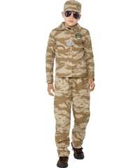 Smiffys Maskáčová uniforma - 4 - 6 roků