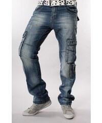 M. SARA kalhoty pánské 8036 kapsáče jeans džíny