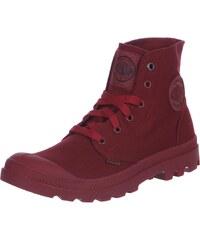 Palladium Mono Chrome Schuhe maroon