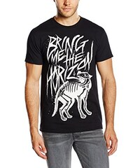 Bring Me The Horizon Herren T-Shirt Wolf Bones