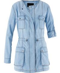 bpc selection Jeans -Longjacke langarm in blau für Damen von bonprix
