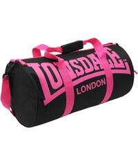 Sportovní taška Lonsdale dám. černá/růžová