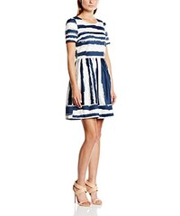 Almost Famous Damen Kleid Abstract Stripe