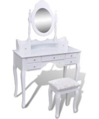 Toaletní stolek se stoličkou Maxi