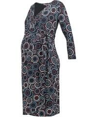 Anna Field MAMA Jerseykleid blue/black