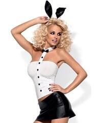 OBSESSIVE Dámský kostým Bunny skirty set