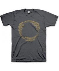Level Up Wear Herren, T-Shirt, Online Ouroboros