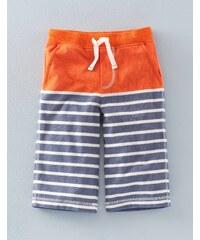 Baggyhose aus Jersey Orange Jungen Boden