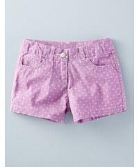 Jeansshorts mit Herztaschen Lila Mädchen Boden