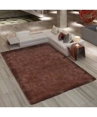 Velice kvalitní chlupatý hnědý koberec Shaggy 120x170cm