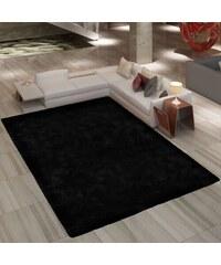 Velice kvalitní chlupatý černý koberec Shaggy 120x170cm