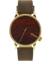 Hodinky Komono Winston gold wood