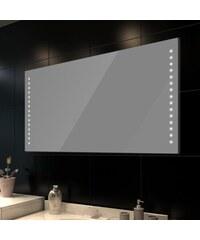 Nástěnné koupelnové zrcadlo s LED podsvícením, 100x60cm