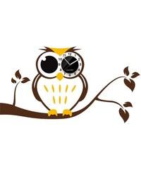 Clocker Samolepící designové hodiny Owl