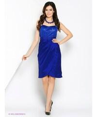Slavnostní šaty APART (vel.46 skladem) 46 modrá royal Dopravné zdarma!