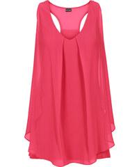 BODYFLIRT boutique Top à volant rose femme - bonprix