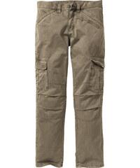 RAINBOW Pantalon cargo Loose-Fit Straight vert homme - bonprix