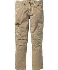 RAINBOW Pantalon cargo Loose-Fit Straight beige homme - bonprix