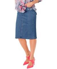 Damen Jeans-Rock Baur blau 36,38,40,42,44,46,48,50,52,54