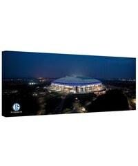 HOME AFFAIRE Leinwandbild Schalke Arena - Panorama 120/50 cm bunt