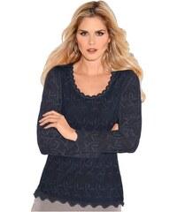 LADY Damen Shirt blau 36,38,40,42,44,46,48,50,52,54