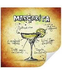 Wandtattoo Margarita - Rezept 50/50 cm HOME AFFAIRE bunt
