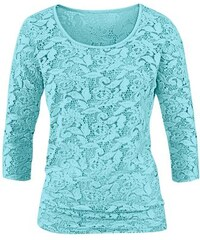 LADY Damen Lady Shirt blau 36,38,40,42,44,46,48,50,52,54