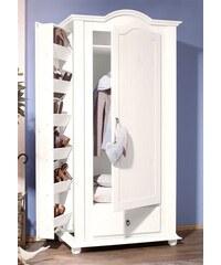 Garderoben- und Schuhschrank Silja HOME AFFAIRE weiß