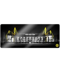Glasbild BVB Signal Iduna Park 100/40 cm HOME AFFAIRE gelb