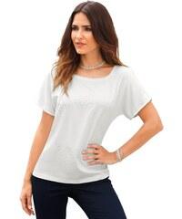 CRÉATION L Damen Création L Shirt mit Satin-Vorderseite natur 38,40,42,44,46,48,50