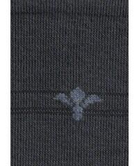 Herren-Socken ROGO grau 39-42,43-46