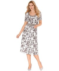 LADY Damen Jersey-Kleid braun 18,19,20,21,22,23,24,25