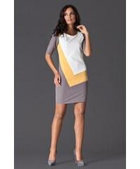 Dámské šaty M118 yellow