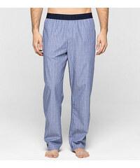 Pyžamové kalhoty NM1035E - modrá - Calvin Klein