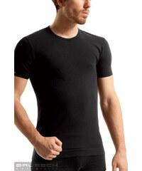 BRUBECK Pánské tričko SS 00990 Sleeve short black