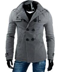 streetIN Pánský kabát - šedá Velikost: M
