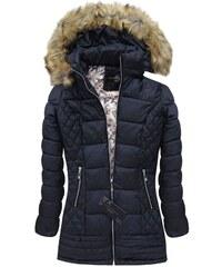 streetIN Dámská zimní bunda - tmavě modrá Velikost: S