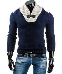 Pánský svetr - tmavě modrá Velikost: M