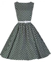 Dámské šaty Lindy Bop Audrey Zelená kráska