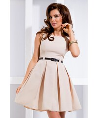 SAF Dámské šaty Elegantis pudrové