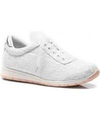 Vices botasky s krajkou Destiny bílé