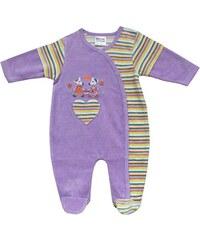 Schnizler Baby - Mädchen Schlafstrampler Nicki Schlafanzug Mäuschen